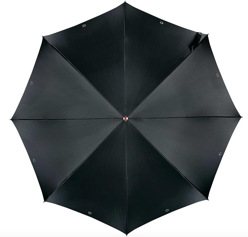 Doppler Diamonds Regenschirm, schwarz