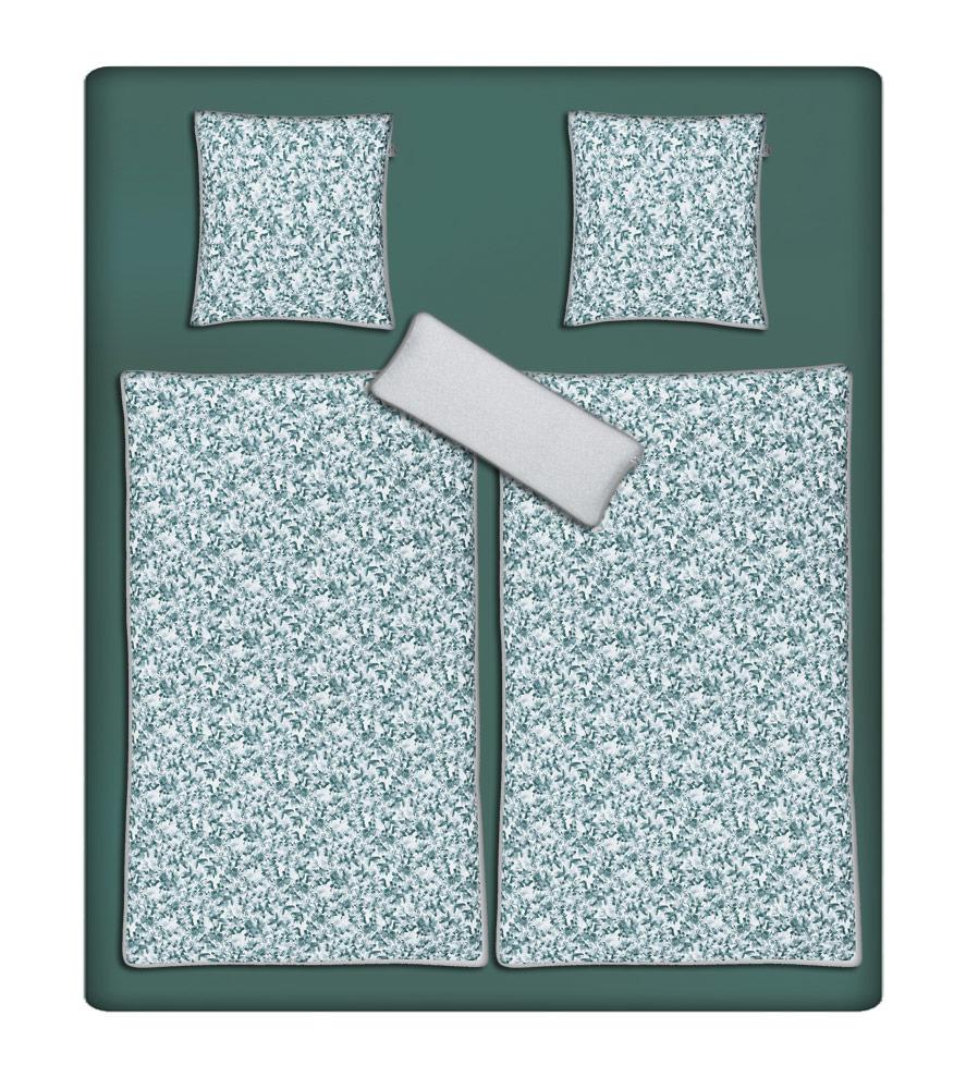 Irisette Mako Satin, Doppelbett-Bettwäsche