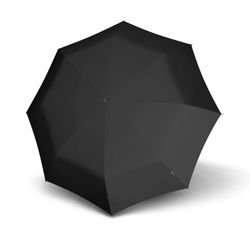 Doppler Magic Carbonsteel Regenschirm, schwarz
